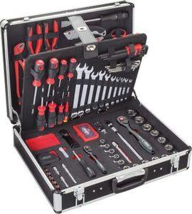 Vigor Werkzeug-Koffer inkl. Sortiment, 143 teilig V2542