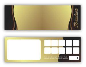 Bonuskarten-Set (50 Stk.) Bonuskarten mit 10 Stempelfeldern trale Ausführung für alle Bereiche geeignet