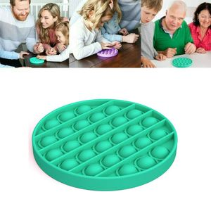 Push Bubble Spielzeug  Stressabbau Lernspielzeuge Multifunktionsspielzeug Kinder Familienspiele Farbe : Circle-Grün