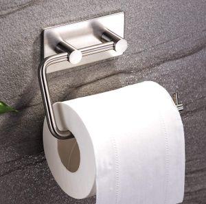 Selbstklebend Toilettenpapierhalter ohne bohren Klopapierhalter Edelstahl klorollenhalter für Badezimmer