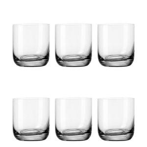 Leonardo Daily WH Becher 6er Set, Wasserglas, Trinkglas, Saftglas, Trinkbecher, 300 ml, 17539
