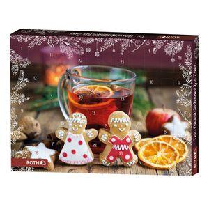 ROTH Tee Adventskalender für Zwei - 2x 24 beste Teesorten im Advent 2021 - nicht nur für Paare - als Geschenk mit Weihnachtstee