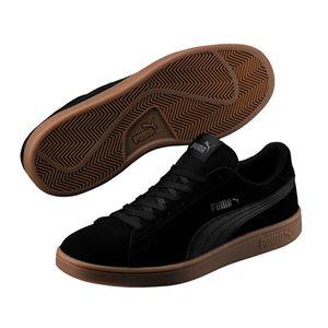 Puma Smash v2 Jersey Herren Sneaker Schuhe, Farbe:Schwarz, Größe:44