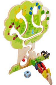 HABA 303821 - Motorikspiel Obstgarten   Motorikspielzeug basierend auf dem beliebten HABA-Spieleklassiker Obstgarten   Holzspielzeug ab 18 Monaten