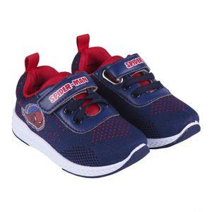 Marvel Spiderman Sneaker Schuhe Sportschuhe Kinder Dunkelblau Gr. 27