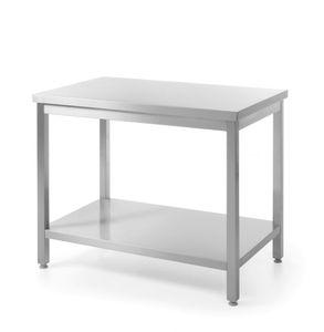 HENDI Arbeitstisch montierbar Edelst 1600x700x(H)900 mm