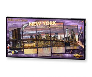 Schipper 609450806 New York in der Morgendämmerung Malen nach Zahlen