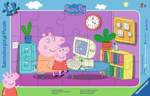 Peppa am Computer Ravensburger 06123