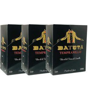 Rotwein Spanien Tempranillo Batuta  Bag in Box trocken (3x5L)