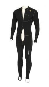 Aclima WarmWool Uni Bodypiece , Farbe:jet black, Größe:L