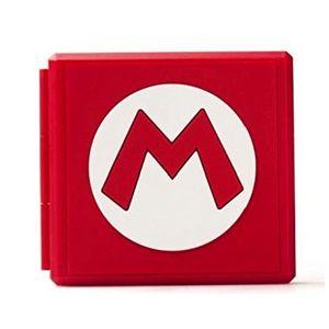 Premium Game Card Case Aufbewahrungsbox fuer Nintendo Switch - Mario