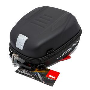 GiVi Sport-Touring TanklockED Tankrucksack schwarz 5 Liter Volumen / mit Security Lock