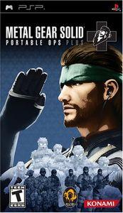 Konami Metal Gear Solid: Portable Ops Plus, PSP, PlayStation Portable (PSP), T (Jugendliche)