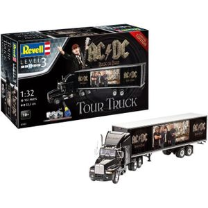 Revell AC/DC Level 3 Modellbausatz mit Basiszubehör 1/32 Truck & Trailer 55 cm REV07453