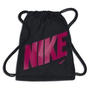 Nike Sportbeutel Gymbag NIKE GRAPHIC GYMSACK Turnbeutel schwarz rush pink