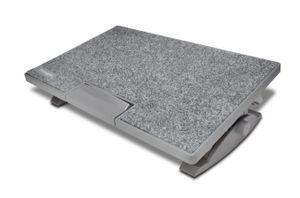 Kensington SmartFit® SoleMate™ Pro Elite ergonomische Fußstütze, Grau, 0 - 18°, 9 cm, 12 cm
