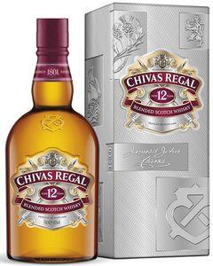 Chivas Regal 12 Jahre Blended Scotch Whisky | 40 % vol | 0,7 l