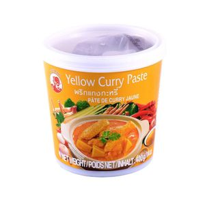 Gelbe Curry Paste Cock brand 400 g
