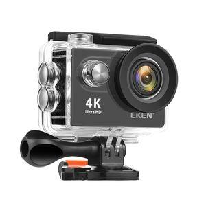 Tragbare Action-Kamera EKEN H9R 4K Leichte Mini-Camcorder Wasserdichte Sportkamera (schwarz)