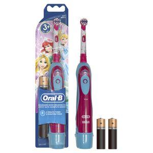 Oral-B Kids Batteriebetriebene Zahnbürste Disney Cars oder Disney Prinzessin, für Kinder ab 3 Jahren