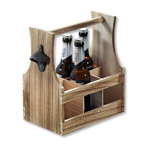 KESPER Flaschenträger, aus Paulowniaholz, 6926613