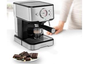 Princess 2 Tassen Espresso- & Kapselmaschine mit Milchaufschäumer