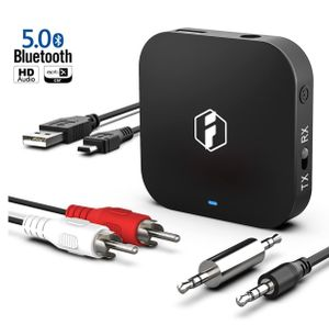 Inateck aptX HD/aptX Low Latency Bluetooth 5.0 Adapter, 2 in 1 3,5 mm Audio Bluetooth-Sender-Empfänger für TV, Kopfhörer, Lautsprecher und Autoradio