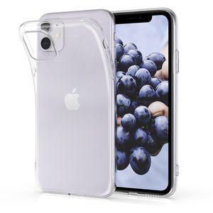 kwmobile Case kompatibel mit Apple iPhone 11 - Hülle Handy - Handyhülle in Transparent