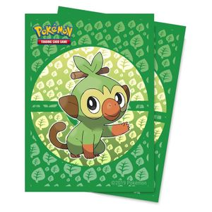 Ultra Pro Sleeves - Pokemon Sword and Shield Galar Starters Grookey (65 Sleeves)