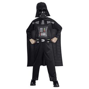 Kinder Star Wars Darth Vader Kostüm Größe L 8-10 Jahren, ohne Lichtschwert.