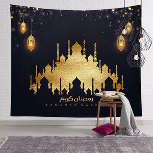 Ramadan Festival Tapisserie Wandbehang Dekoration Outdoor Picknick Matte Tischdecke