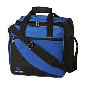 Bowlintasche Ebonite Basic 125 für Bowlingball und Bowlingschuhe Blau