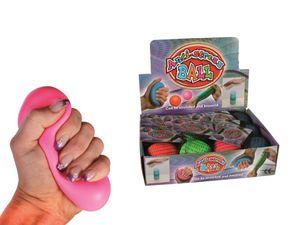 Knetball Anti Stress 4 Farben sortiert 6cm, 1Stück