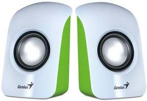 Genius SP-U115 White 2.0 Aktivlautsprecher