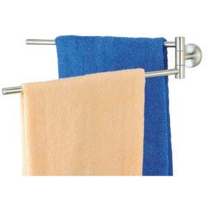 Doppel Handtuchhalter Edelstahl circa 50 cm