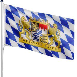 FLAGMASTER® Aluminium Fahnenmast Bayern 6,50m