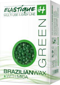 Enthaarungs Filmwachs Elastique Green in Perlen 500 g