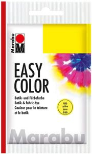"Marabu Batik und Färbefarbe ""EasyColor"" 25 g gelb"