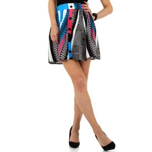 Ital-Design Damen Röcke Miniröcke Blau Gr.s/M