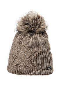Eisbär Damen Mütze CHANTAL LUX CRYSTAL beige