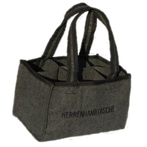278866 Flaschentasche Herrenhandtasche