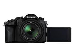 Panasonic Lumix DMC-FZ1000 20,1 Megapixel 4K Ultra HD Bridge-Kamera, 16-fach optischer/4-fach digitaler Zoom, 25 - 400 mm Brennweite, optischer Bildstabilisator, 13,2 x 8,8 mm Live MOS-Sensor, F2,8 (W) - F4 (T), 7,62 cm (3 Zoll) Display, WLAN, HDMI, Gesichtserkennung