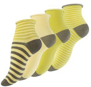 Vincent Creation® Kurzschaft-Socken 8 Paar, mit Rollrand Bunt 39-42
