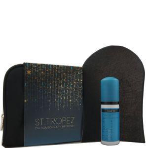 St Tropez Self Tan Express Mousse 50ml & Applicatorhandschuh & Tasche