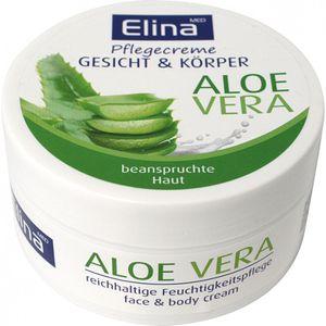 Elina Pflegende Hautcreme   Aloe Vera, 150ml, Dose