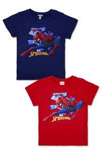 Marvel Spiderman T-Shirt Blau - Größe 116