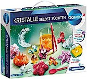 Clementoni 59116 Galileo Science – Kristalle selbst züchten, Experimentierkasten für kleine Wissenschaftler, Spielzeug für Kinder ab 8 Jahren, farbenfrohe Experimente fürs Kinderzimmer