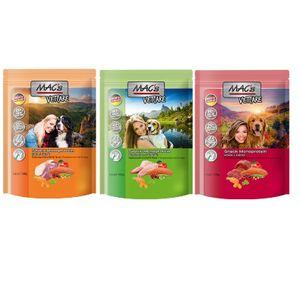 MAC's Mono Hunde Snack Mix 3x100g | 3 verschiedene Sorten (Pferd, Kaninchen, Ente)