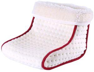 Fußwärmer - elektrische Fußheizung mit 3 Heizstufen - elektrischer Fußwärmer mit Schnellheizung - Beheizte Schuhe mit Überhitzungsschutz und Abschaltautomatik