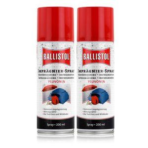 Ballistol Imprägnier-Spray Pluvonin 200ml - Imprägnierung (2er Pack)